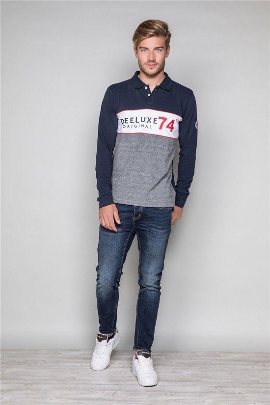 Polo shirt SQUAZZIE Man W19215 (48480) - DEELUXE-SHOP