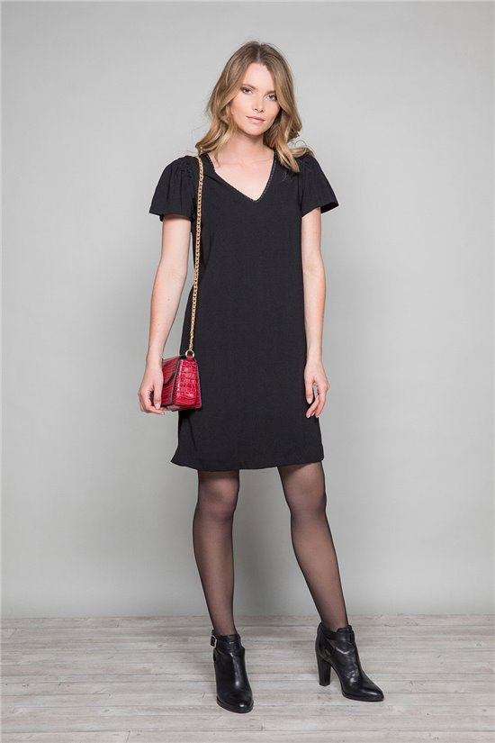 Dress Dress LIDIA Woman W19205W (48490) - DEELUXE-SHOP
