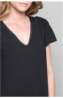 Dress Dress LIDIA Woman W19205W (48494) - DEELUXE-SHOP