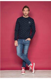 Sweatshirt NAGPUR Man W19534 (48559) - DEELUXE-SHOP