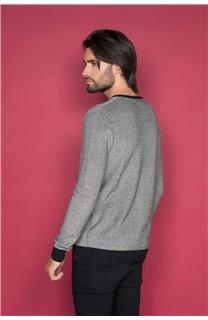 Sweater TOKYO Man W19318 (48609) - DEELUXE-SHOP