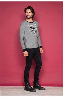 Sweater TOKYO Man W19318 (48612) - DEELUXE-SHOP