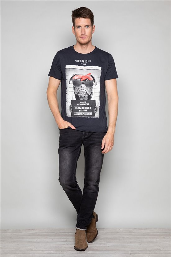 T-shirt BANDI Man W19190 (48648) - DEELUXE-SHOP