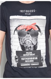 T-shirt BANDI Man W19190 (48652) - DEELUXE-SHOP