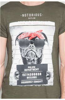 T-shirt BANDI Man W19190 (48657) - DEELUXE-SHOP