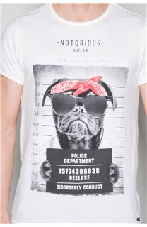 T-shirt BANDI Man W19190 (48662) - DEELUXE-SHOP