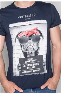 T-shirt BANDI Man W19190 (48667) - DEELUXE-SHOP