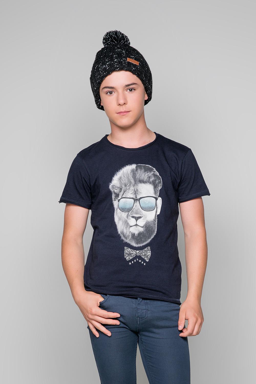 T-shirt LIONMAN Boy W19135B (48708) - DEELUXE-SHOP