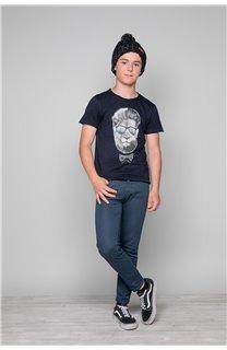 T-shirt LIONMAN Boy W19135B (48709) - DEELUXE-SHOP