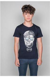 T-shirt LIONMAN Boy W19135B (48710) - DEELUXE-SHOP