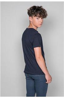 T-shirt LIONMAN Boy W19135B (48711) - DEELUXE-SHOP