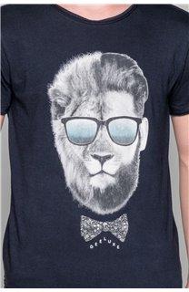 T-shirt LIONMAN Boy W19135B (48712) - DEELUXE-SHOP