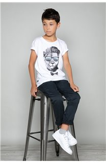 T-shirt LIONMAN Boy W19135B (48714) - DEELUXE-SHOP