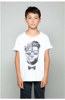 T-shirt LIONMAN Boy W19135B (48717) - DEELUXE-SHOP