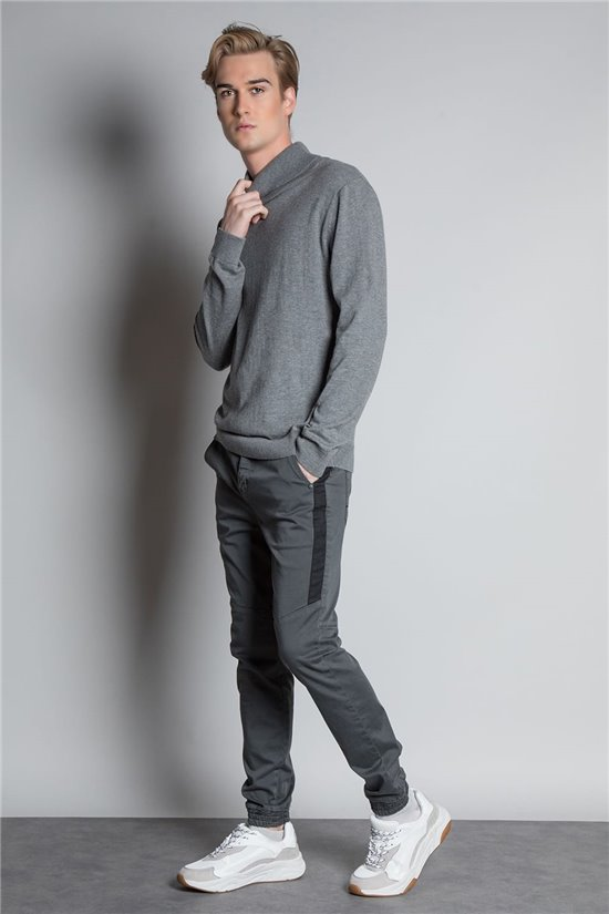 Sweater ROLLUP Man W19319 (48733) - DEELUXE-SHOP