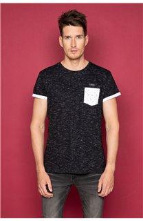T-shirt SHAMSON Man W19195 (48779) - DEELUXE-SHOP
