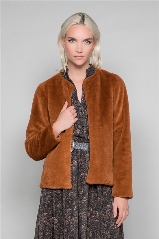 Manteau Manteau MOLLY Woman W19607W (48822) - DEELUXE-SHOP