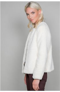 Manteau MOLLY Woman W19607W (48827) - DEELUXE-SHOP