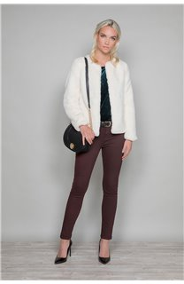 Manteau MOLLY Woman W19607W (48828) - DEELUXE-SHOP