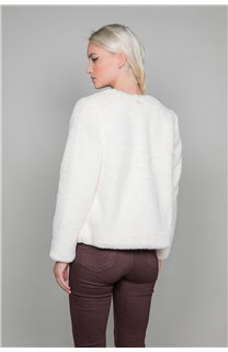 Manteau MOLLY Woman W19607W (48830) - DEELUXE-SHOP