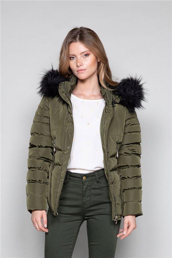 Puffy Jacket JACKET LEONA Woman W19615W (48867) - DEELUXE-SHOP