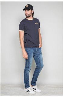 T-shirt HELLER Man W19104 (48955) - DEELUXE-SHOP