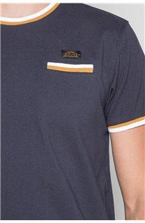 T-shirt HELLER Man W19104 (48958) - DEELUXE-SHOP