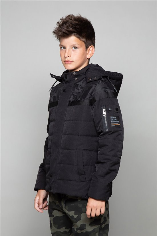 Puffy Jacket Puffy Jacket DJOBI Boy W19619B (48969) - DEELUXE-SHOP