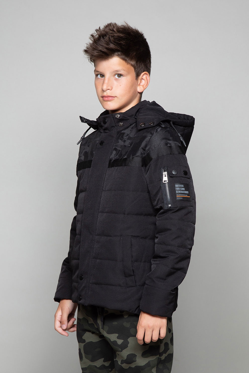 Puffy Jacket DJOBI Boy W19619B (48969) - DEELUXE-SHOP