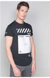 T-shirt HERE Man W19162 (49099) - DEELUXE-SHOP