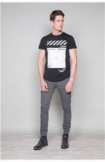 T-shirt HERE Man W19162 (49100) - DEELUXE-SHOP