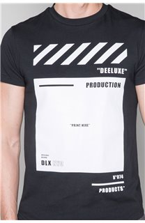 T-shirt HERE Man W19162 (49103) - DEELUXE-SHOP