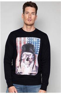 Sweatshirt ARMANDO Man W19541 (49110) - DEELUXE-SHOP