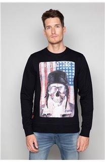 Sweatshirt ARMANDO Man W19541 (49112) - DEELUXE-SHOP