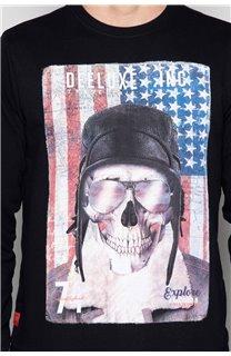Sweatshirt ARMANDO Man W19541 (49114) - DEELUXE-SHOP