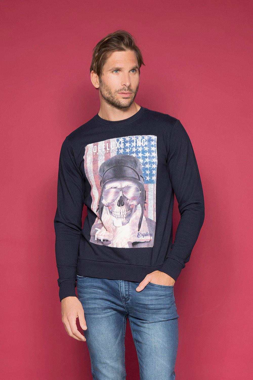 Sweatshirt ARMANDO Man W19541 (49115) - DEELUXE-SHOP