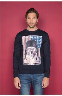 Sweatshirt ARMANDO Man W19541 (49117) - DEELUXE-SHOP