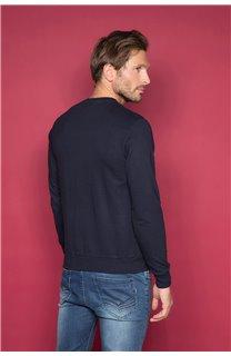 Sweatshirt ARMANDO Man W19541 (49118) - DEELUXE-SHOP
