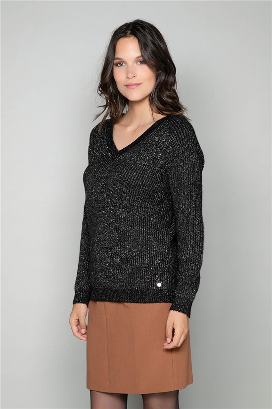 Sweater Sweater MIEL Woman W19306W (49145) - DEELUXE-SHOP