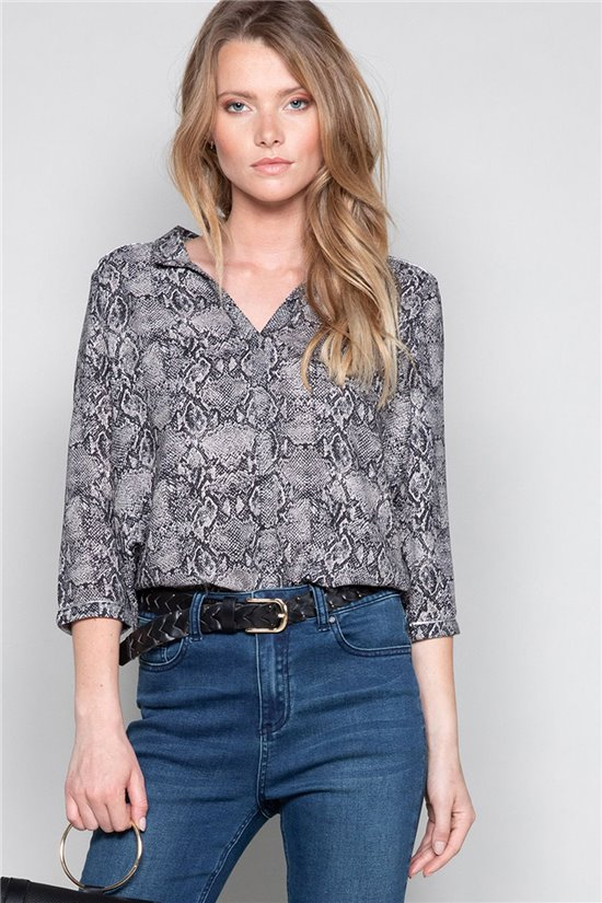 Blouse Blouse LUCE Woman W19413W (49196) - DEELUXE-SHOP