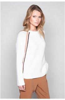 Sweater GERTRUDE Woman W19325W (49386) - DEELUXE-SHOP