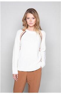 Sweater GERTRUDE Woman W19325W (49388) - DEELUXE-SHOP