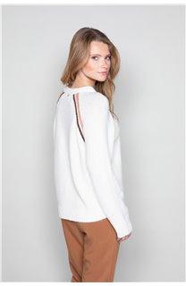 Sweater GERTRUDE Woman W19325W (49389) - DEELUXE-SHOP