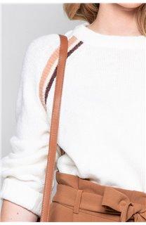 Sweater GERTRUDE Woman W19325W (49390) - DEELUXE-SHOP
