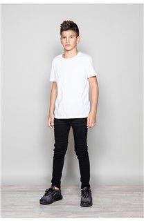 Jean JEANS BLACK Boy JJ8001B (49740) - DEELUXE-SHOP