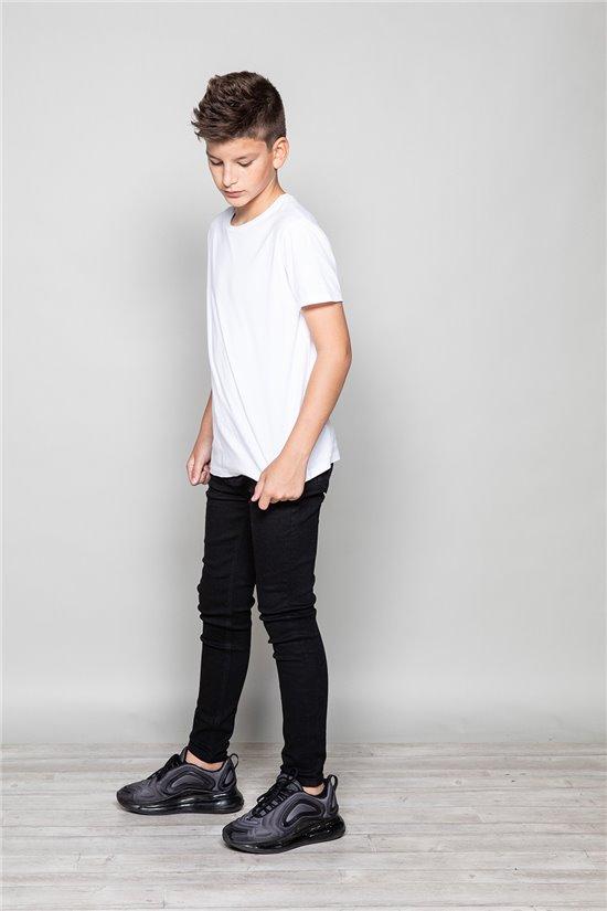 Jean BLACK Boy JJ8001B (49740) - DEELUXE-SHOP