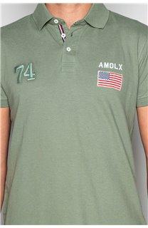 Polo shirt Polo shirt DRISKY Man S19231 (49757) - DEELUXE-SHOP
