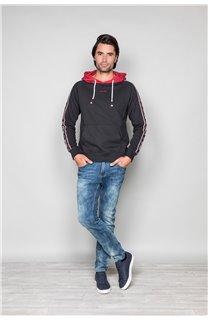 Sweatshirt LOOK Man W19533 (49979) - DEELUXE-SHOP