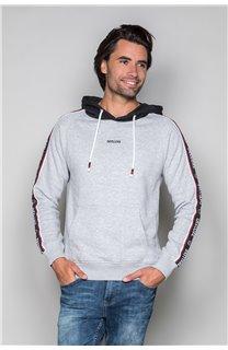 Sweatshirt LOOK Man W19533 (49983) - DEELUXE-SHOP