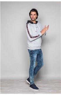 Sweatshirt LOOK Man W19533 (49984) - DEELUXE-SHOP